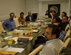 وب کنفرانس مدیران پروژه ها با کارخانه کریر 1